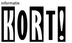 Logo: Kort! - Meer informatie